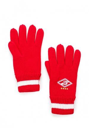 Перчатки Atributika & Club™. Цвет: красный