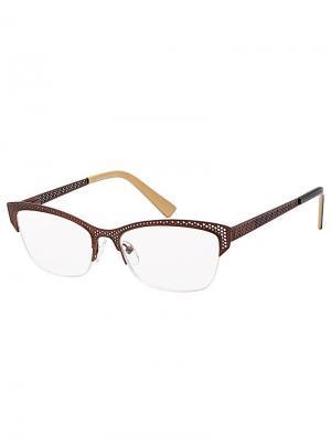 Очки +2,5/FM862-C4 Grand. Цвет: коричневый, бежевый