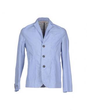 Пиджак D.R SHIRT. Цвет: синий