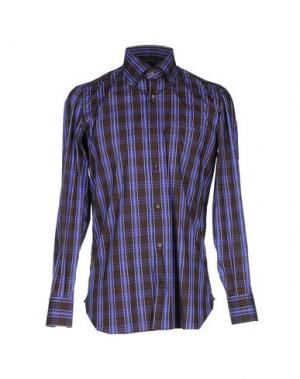 Pубашка GIAMPAOLO. Цвет: темно-коричневый
