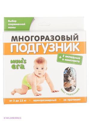 Подгузник Mum`s Era. Цвет: коричневый, оранжевый, синий, зеленый
