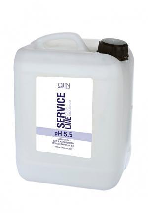 Шампунь для ежедневного применения Ollin. Цвет: белый