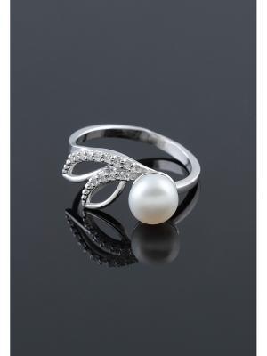 Кольцо Migura. Цвет: серебристый, белый