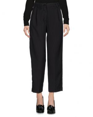 Повседневные брюки NORA BARTH. Цвет: стальной серый