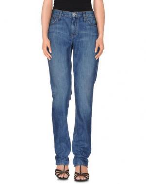 Джинсовые брюки HUDSON. Цвет: синий
