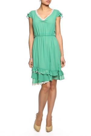 Платье Toy G.. Цвет: зеленый