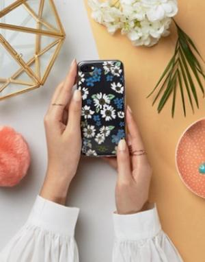 Zero Gravity Чехол для iPhone 7 с цветочным принтом. Цвет: мульти