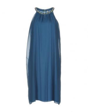 Платье до колена EMMA&GAIA. Цвет: цвет морской волны