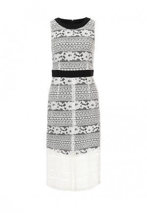 Платье Trussardi Jeans. Цвет: белый