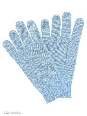 Перчатки United Colors of Benetton. Цвет: светло-голубой