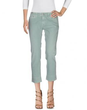 Джинсовые брюки NOTIFY. Цвет: зеленый