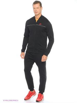 Спортивный костюм M NSW TRK SUIT JSY CLUB Nike. Цвет: черный