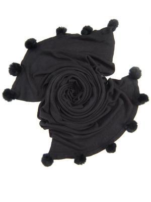 Платок , Размер 190X60 См Charmante. Цвет: черный