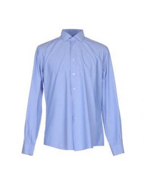 Pубашка FABIO MODIGLIANI. Цвет: небесно-голубой