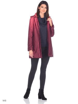 Куртка SANNI Maritta. Цвет: бордовый