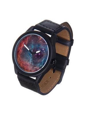 Часы Mitya Veselkov Космос Арт. MVBlack-33. Цвет: черный
