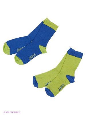 Носки Janus. Цвет: синий