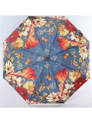 Зонт Zest. Цвет: серый,коричневый,темно-серый