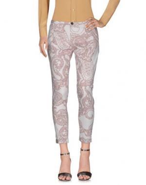 Повседневные брюки BRUNO MANETTI. Цвет: слоновая кость