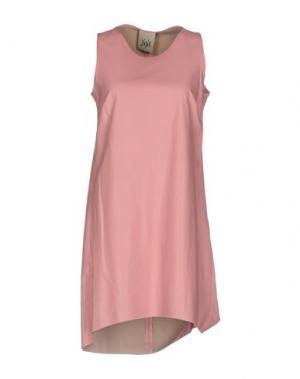 Короткое платье JIJIL. Цвет: розовый