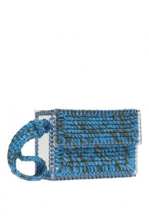Клатч 7II. Цвет: голубой