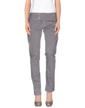 Повседневные брюки NOLITA DE NIMES. Цвет: свинцово-серый