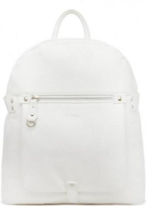 Рюкзак белого цвета на молнии Picard. Цвет: белый
