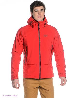 Куртка GLACIER PEAK JACKET MEN Jack Wolfskin. Цвет: красный