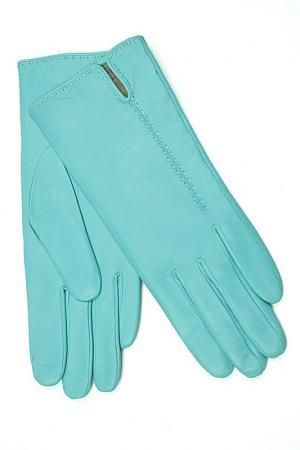Перчатки Dali Exclusive. Цвет: светло-синий, голубой