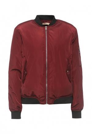 Куртка утепленная By Swan. Цвет: бордовый
