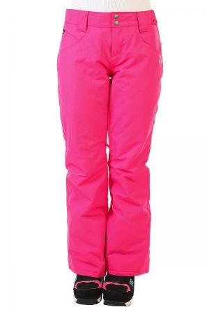Штаны сноубордические женские  Fit Insulated Pants Fuchsia Oakley. Цвет: розовый