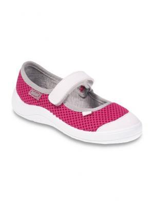 Туфли Befado. Цвет: розовый, белый