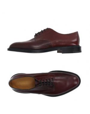 Обувь на шнурках EDWARD GREEN. Цвет: красно-коричневый