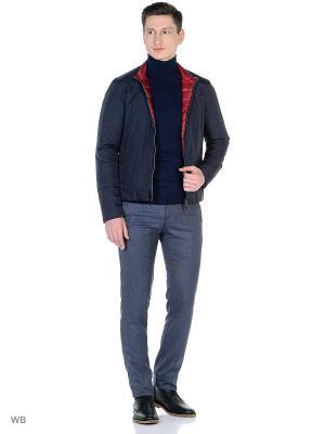 Куртка Herno. Цвет: синий, красный