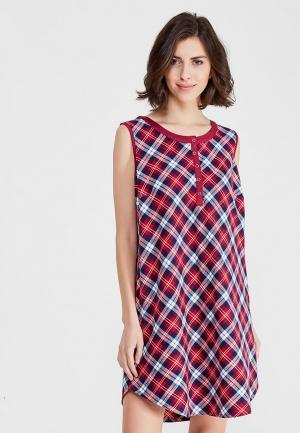 Платье домашнее Mia-mella. Цвет: бордовый