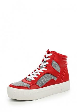 Кеды DKNY. Цвет: красный