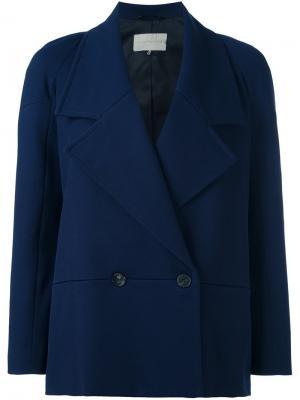 Двубортный пиджак LAutre Chose L'Autre. Цвет: синий