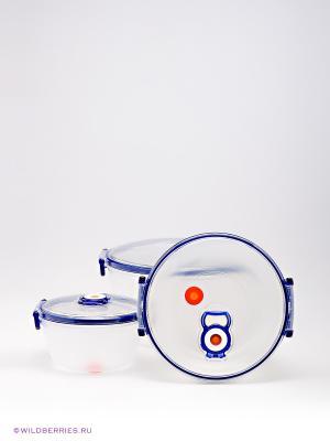 Контейнер Bekker. Цвет: белый (осн.), синий
