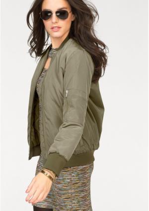 Куртка Aniston. Цвет: оливково-зеленый