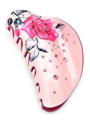 Заколка-краб Only Happy. Цвет: розовый, малиновый