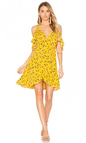 Платье delta Privacy Please. Цвет: желтый