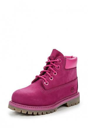Ботинки Timberland. Цвет: фуксия