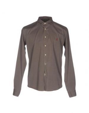 Pубашка COOPERATIVA PESCATORI POSILLIPO. Цвет: светло-коричневый