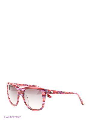 Солнцезащитные очки MM 549 04 Missoni. Цвет: розовый