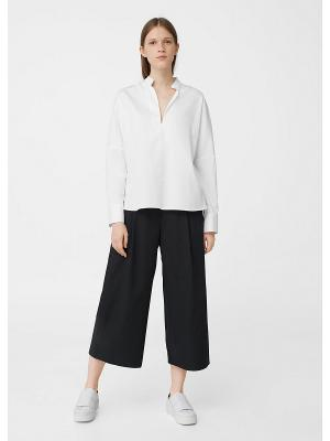 Блузка - JIL2 Mango. Цвет: белый, прозрачный