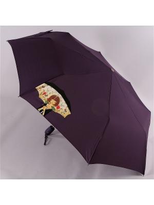 Зонт Airton. Цвет: черный, красный