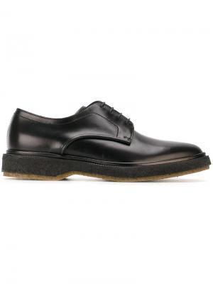 Ботинки Дерби Henderson Baracco. Цвет: чёрный