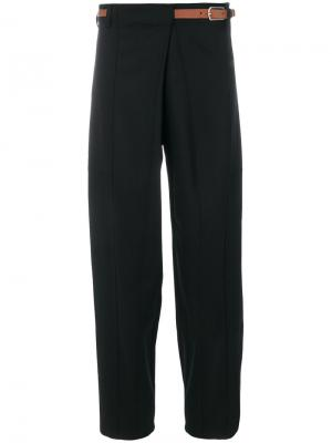 Свободные строгие брюки Barena. Цвет: чёрный