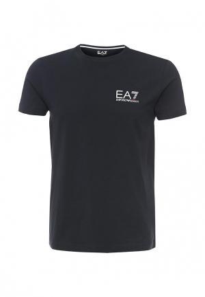 Футболка EA7. Цвет: синий