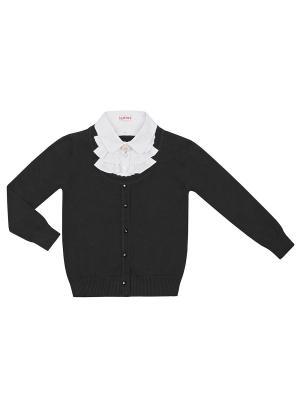 Джемпер 7 одежек. Цвет: черный, белый
